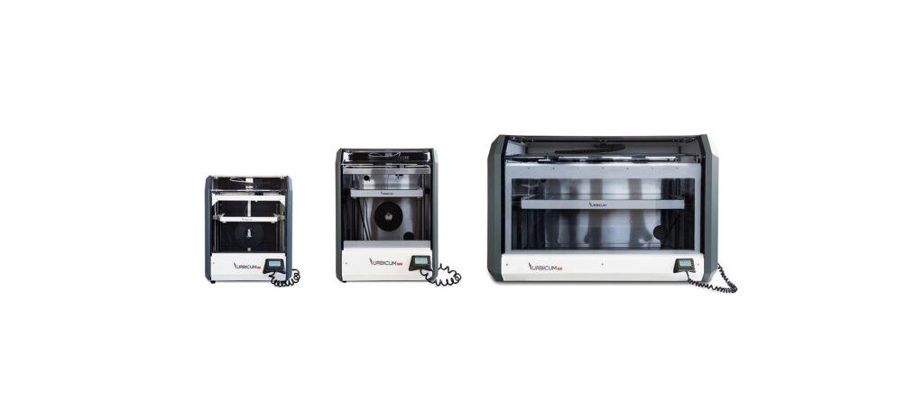 Drukarki 3d klasy przemysłowej Urbicum: MX, DX, GX
